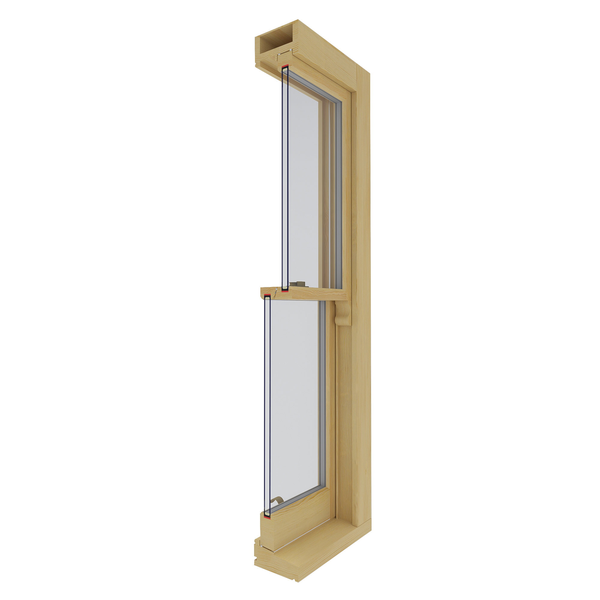 TIMBER SASH WINDOWS PRO NATURE